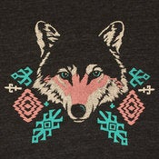 Image of Wolf Deep V-Neck | 100% Cotton