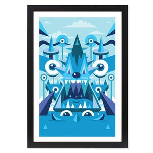 "Image of ""SEVEN SEAS"" PRINT"