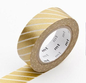 Image of Gold Stripe Washi Tape