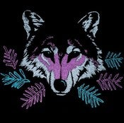 Image of Wolf V-Neck | 100% Cotton