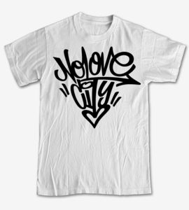 Image of Graffiti Logo (White)