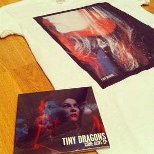 Image of Come Alive EP + T-Shirt (Mens V-Neck) Bundle