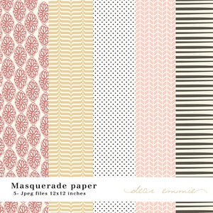 Image of Masquerade Paper Pack