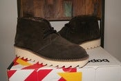 Image of A Bathing Ape x Revolver Suede Footsoldier Desert Boots 6