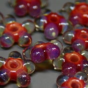 Image of Borosilicate Flower Beads (5)