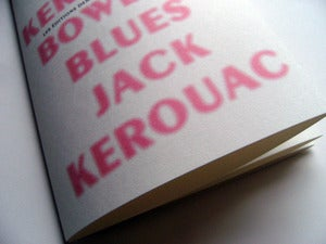 Image of Jack Kerouac  Bowery Blues