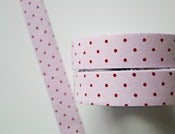 Image of Fabric Tape &quot;Pink dots&quot;