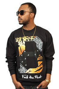 Image of Paisley Tiger Crew Black