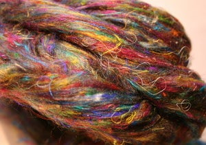 Image of Pulled Silk: Roving Style!