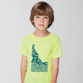 Image of Gem State Kids Tee