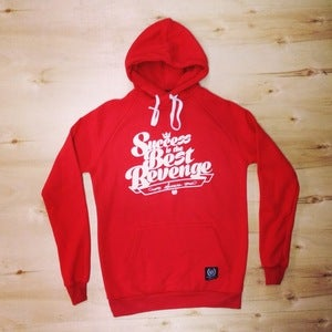 Image of The Revenge hoodie (Men-Red)