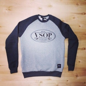 Image of The VSOP crewneck (Men-Gray)