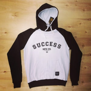 Image of The Simple hoodie (Men-Black & White)