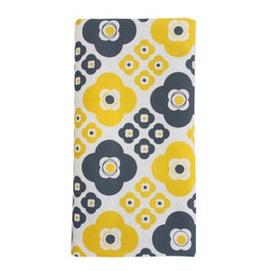 Image of Bloom Napkins {yellow set-4}