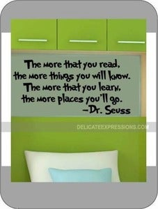 Image of The more that you read...Dr. Seuss