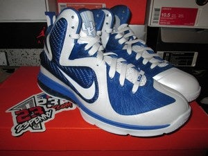 Image of LeBron IX (9) &quot;UK PE - White&quot;