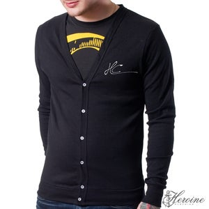 Image of Class Black Cardigan Unisex