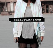 Image of Ammel Holographic Bomber Jacket
