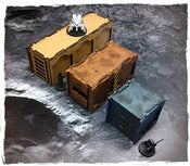 Image of Sci-Fi Containers set