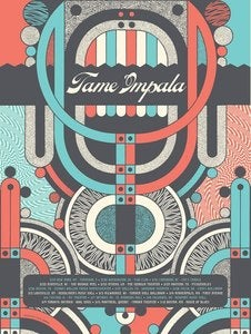 Image of Tame Impala - North American Tour poster