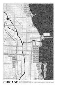Image of Chicago (Black &amp; White)
