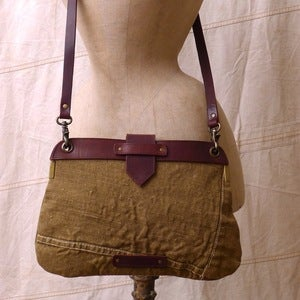Image of Reclaimed Tent Canvas Rambler, with Strap
