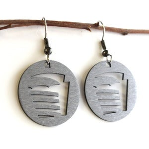 Image of Football Field Earrings
