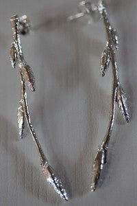 Image of hornbeam twig earrings