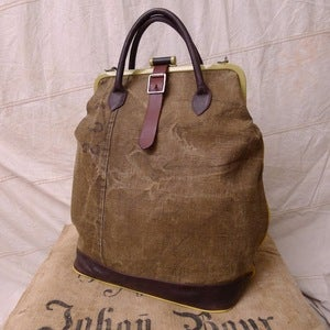 Image of Reclaimed Tent Canvas Weekender