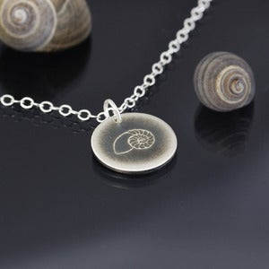 Image of Tiny Nautilus Shell Necklace