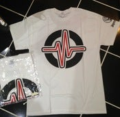 Image of *NEW* Signature 'Pulse' Logo White Tee