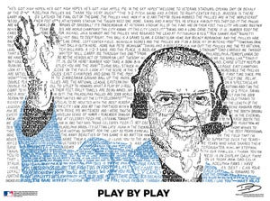 "Image of Harry Kalas ""Play by Play"" Poster"