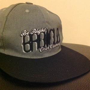 Image of BROCLO Two Tone Snapback (Grey/Black)