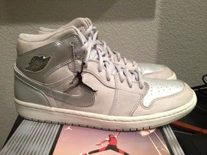 "Image of Air Jordan I ""Metallic Silver"" - 2001 limited edt."