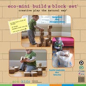Image of eco-mini build a block set™