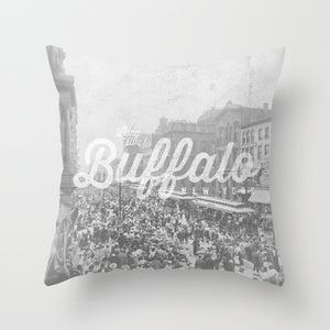 Image of &lt;b&gt;Long Live Buffalo&lt;/b&gt;&lt;br&gt;Labor Day&lt;br&gt;Throw Pillow
