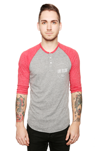 Image of Authentic Raglan Henley