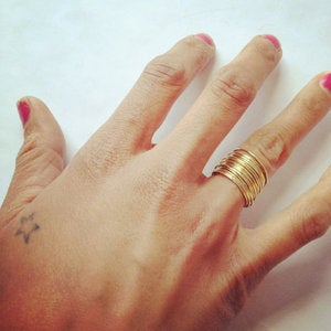 Image of sweet and tiny stacking rings