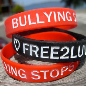 Image of PACK OF FREE2LUV WRISTBANDS