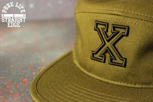 Image of Olive Green 5 Panel Hat (SOLD OUT)