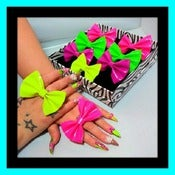 Image of ♥NEON BOW RINGS♥