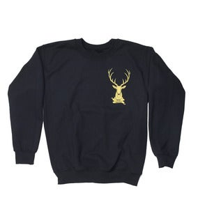Image of Stag Logo Sweatshirt // Black //