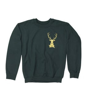 Image of Stag Logo Sweatshirt // Forest //