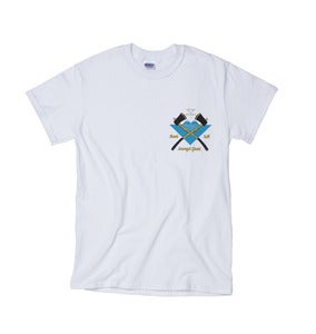 Image of Axe Tee // White //
