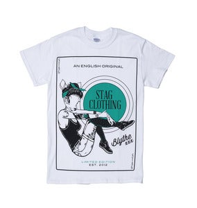 Image of Pin Up Tee // White //
