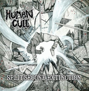 Image of HUMAN CULL - S.S.E &amp; HUMAN CULL - EP