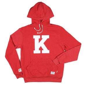 Kloud Felt Hoody Eco Red