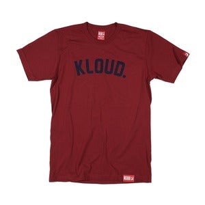Kloud Spot tee Cranberry