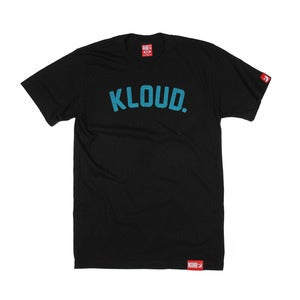 Kloud Spot tee Black