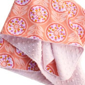 Image of Personalized Minky Baby Blanket -- Lollies